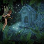 挿絵がとてもきれいでかわいい Disney Fairies シリーズ